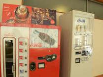 【館内施設】瓶のコーラや瓶牛乳は湯上りの必須