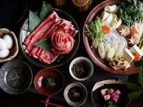*【すき焼き膳】東北で肉を食べよう!特選山形牛を特選いたします。