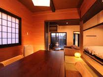 ◆中車◆和室に朱を取り入れた、和情緒溢れる意匠が光るお部屋です。