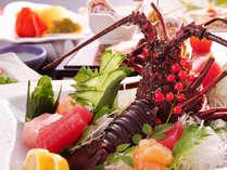 ■【夕食一例】美味しい空気に美味しい水、熊本の豊かな自然が育んだ新鮮な食材。