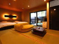 ◆桜天女◆露天風呂付スィート70平米【セミダブルツイン・和室】