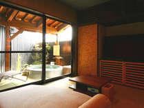 ◆羽衣◆露天風呂付スィート70平米【セミダブルツイン・和室】