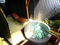 ◆羽衣◆露天風呂付スィート70平米【セミダブルツイン・和室】専用露天風呂