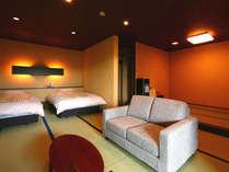 ◆頂天眼◆露天風呂付スィート60平米【セミダブルツイン・和室】