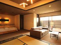 ◆翠金◆露天風呂付スィート100平米【キングベッド・和洋室】