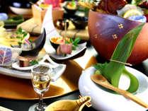 妥協することなくこだわり尽くした、料理人の技が光るお料理をお楽しみ下さい。