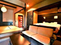 ◆雅◆露天風呂付スィート60平米【キングベッド・和洋室】