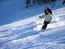 シニアのお客様も久々にスキーを楽しみましょう♪