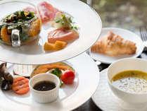 *【洋朝食】地物野菜や季節のフルーツを中心としたヘルシーメニュー。