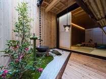 伝統的な坪庭