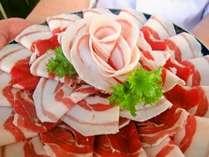 【冬料理】脂がおいしいぼたん肉。ほのか香り、極上の旨味です。