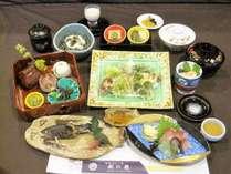 【春料理】山菜の天麩羅をメインにした山菜会席