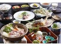 【通年料理】【里山会席】美山の豊かな食材で仕上げるスタンダードな季節会席です。