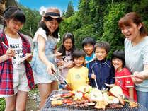 家族みーんなで≪川遊び≫に≪バーベキュー≫!ひと夏の思い出は枕川楼におまかせあれ♪