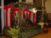 全国でも類のない、綾町の歴史的伝統文化☆雛山を見に行こう☆ 綾採れ会席プラン