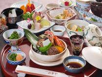 和食会席【素材を大切に、旨みを最大限に引き出すした和食は、もちろん身体にもやさしい。】
