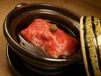 【お食事一例】黒毛和牛フォアグラ包み軽い煮込み
