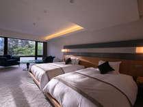 《モデレートツインB》京都の趣を感じる和モダンなお部屋。