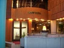 長野プラザホテル正面玄関