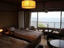 海が見える和室ツインリーム