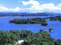 海側客室からは日本三景松島を一望、贅沢です♪