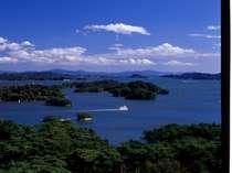 海側の客室らは雄大な松島湾の絶景が見渡せる