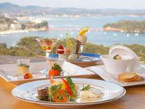 7Fレストラン「潮騒」では松島湾の眺望とともにお食事が楽しめます。