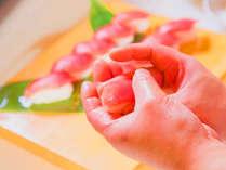 【和風海鮮バイキング】握りたてのお寿司も食べ放題です♪