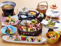 【和食会席料理】イメージ写真※季節によって内容が変更します