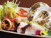 【緊急企画】時を忘れる松島の景色♪海側客室確約★からだもよろこぶ冬のあったか鍋プラン※写真は2人前