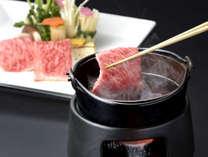 仙台牛のしゃぶしゃぶは色が変わった頃が食べ頃です!仕入れ状況により一部変更になる場合がございます。