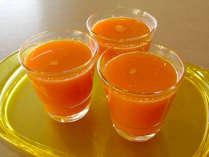 当館のファスティングはにんじんジュースをお食事のメインとして行います