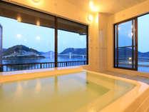 大浴場からの景色は最高です!