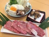 【10月末まで限定!!】熊野牛と松茸のすき焼きプラン[洋室]