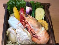 【夏季限定】メインは海鮮と夏野菜たっぷりせいろ蒸し♪夏グルメと温泉を楽しむ(1泊2食付)
