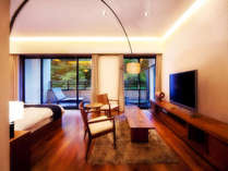 SUITEROOM(鳥の間)素泊まり(食事なし)プラン「客室専用露天風呂付客室」