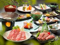 *ご夕食の一例♪会津の地元の品々にこだわった「地産地消」のご夕食♪