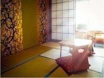 全室畳敷きの和室のお部屋となっております