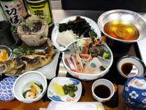 漁師の宿ならではのお料理をご堪能ください