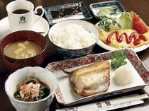 和食主体の日替わり朝食