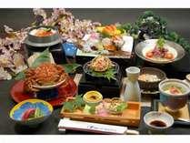 ■ 桜蟹 先取り ■トゲクリガニ(桜蟹)1杯付 御酒好きにはたまらない甲羅酒用日本酒付プラン