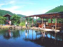 釣り堀1時間無料♪青~い空の下楽しむ釣りプラン