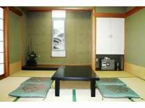 お部屋は全室和室です。4名様の例
