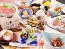 【前沢オガタ牛鍋をはじめ、こだわりの食材が満載♪】前沢オガタ牛鍋メインで旬の食材が満載!