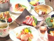 【花の膳】リピート率No1の基本会席。前沢牛と旬の食材をご堪能ください。