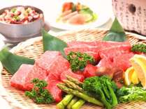 しっかりとした甘みとその濃厚な旨味が特徴のブランド牛「前沢牛」を是非お召し上がりください。