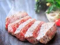 【前沢牛のステーキ】これぞ前沢牛の醍醐味!上質のお肉はやっぱりステーキで♪※イメージ