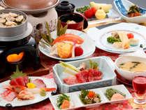 前沢牛の『赤身』と『サシ』をステーキで食べ比べ!当館スタンダード【花の膳】