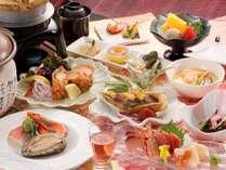 【星の膳】ぷりっぷり♪の鮑&旬魚の陶板焼きがメイン!