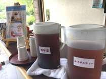 【無料試飲コーナー】ロビー・ラウンジにて、「百年茶」「ルイボスティー」の試飲が出来ます。
